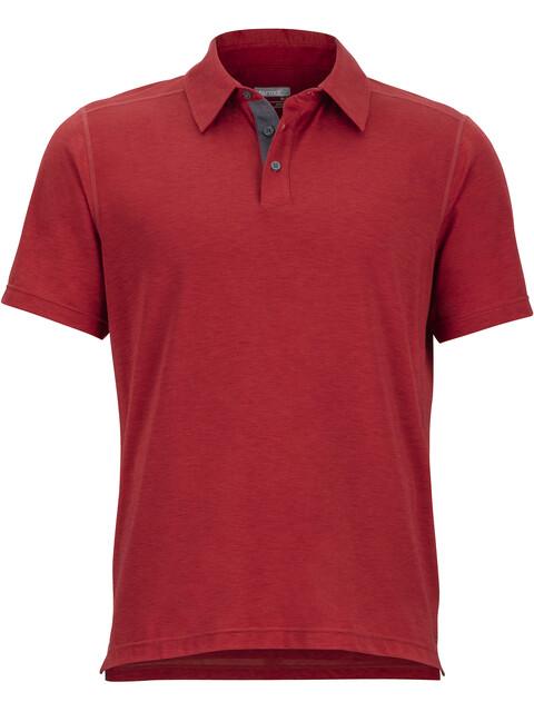 Marmot Wallace - T-shirt manches courtes Homme - rouge